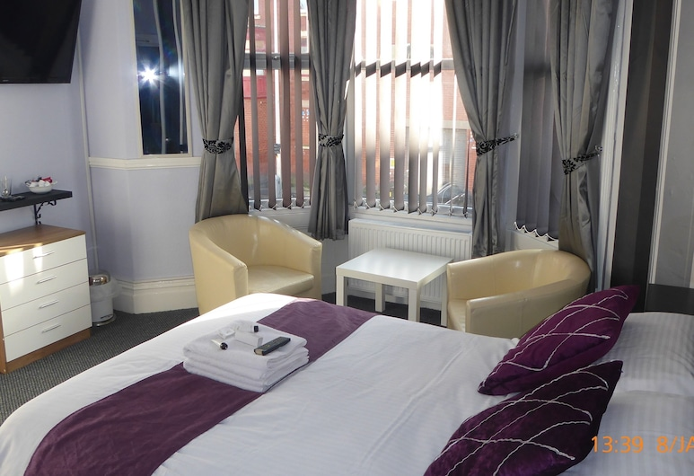 Rest and Welcome, Blackpool, Economy Double or Twin Room, Ensuite, Guest Room