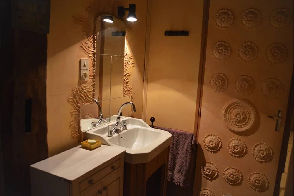 Double Room (Rose d'Afrique) - Bathroom
