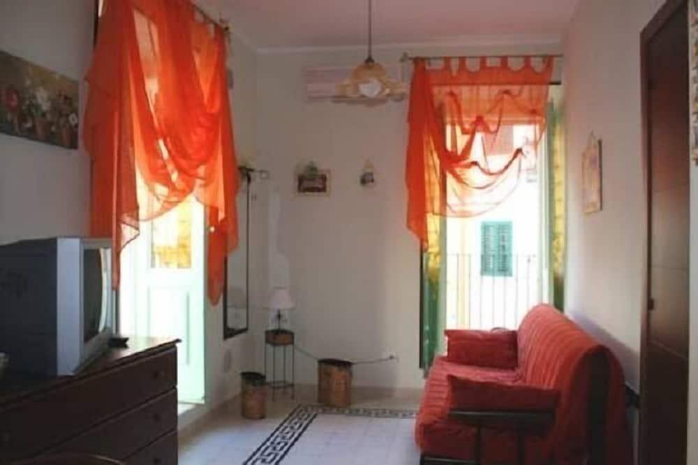 Leilighet, 1 soverom (2 single beds) - Oppholdsområde