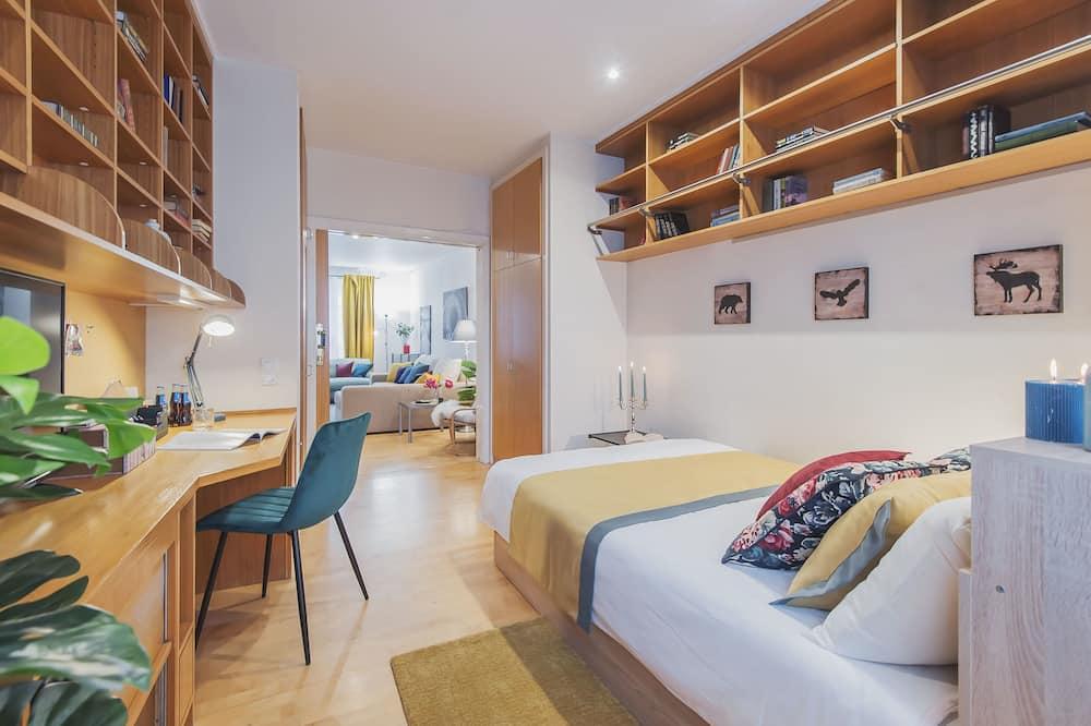 Klassiek appartement, Meerdere bedden, niet-roken, Uitzicht op de stad - Woonruimte