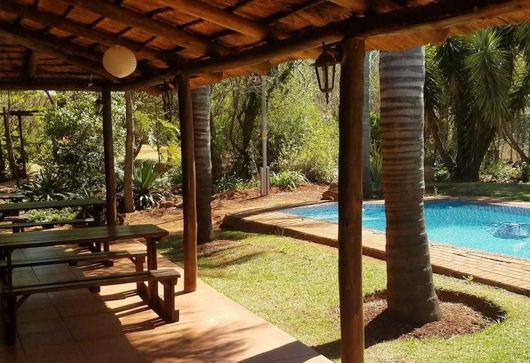 Leribisi Lodge, Tierpoort, Terrace/Patio