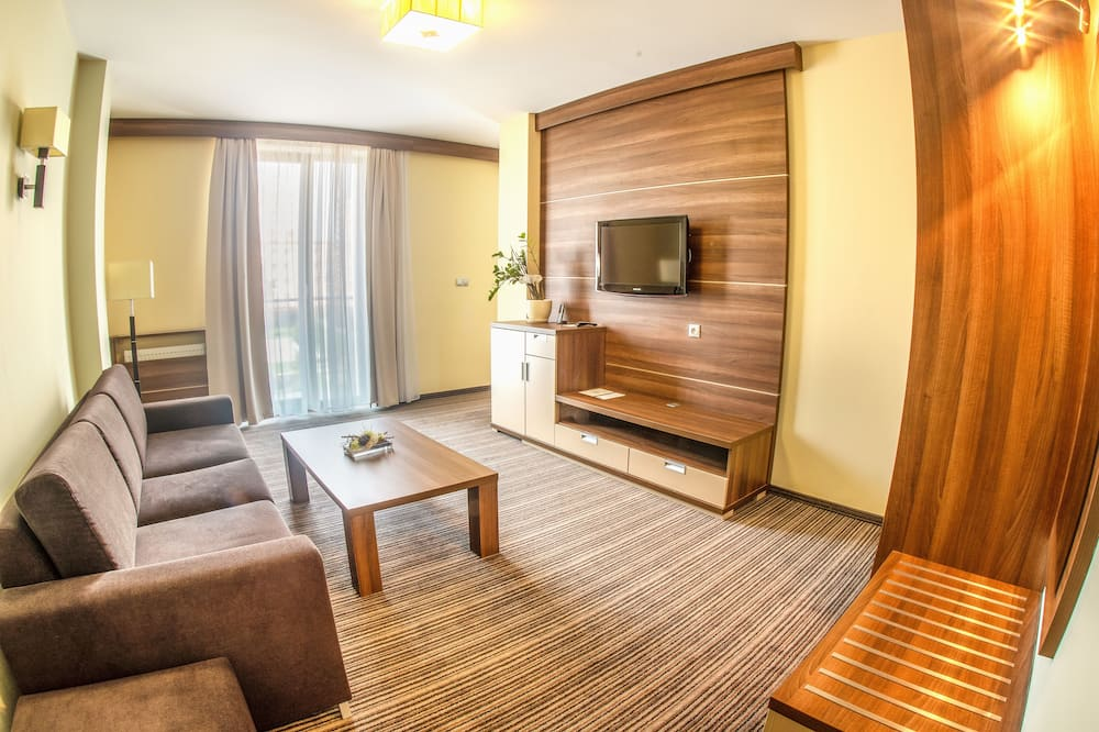 Habitación doble Deluxe, 1 cama Queen size - Sala de estar