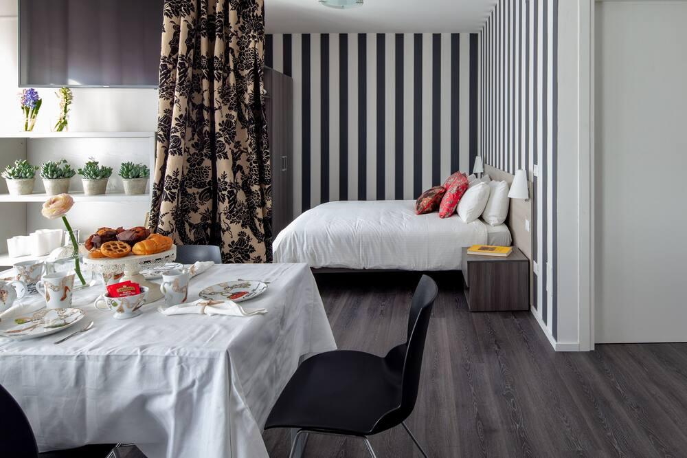 Design Διαμέρισμα, 1 Υπνοδωμάτιο, Θέα στην Αυλή - Καθιστικό