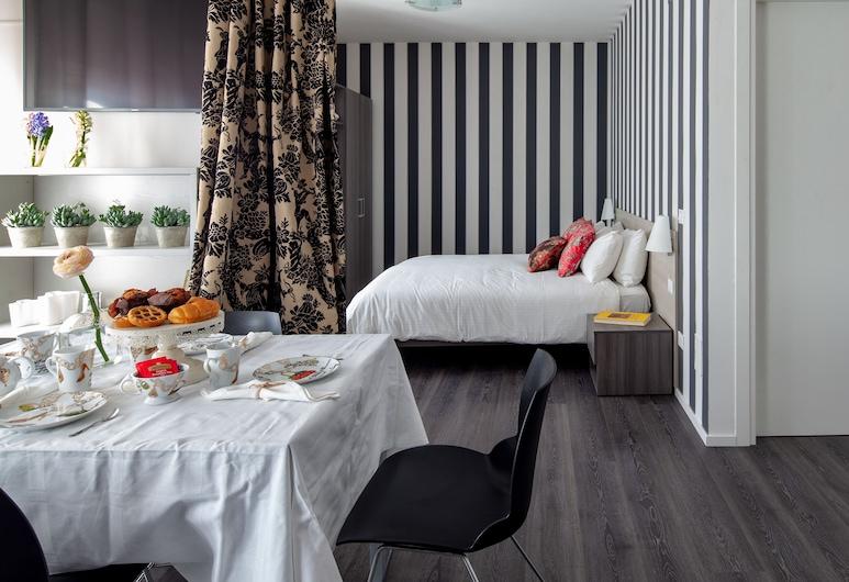 Laguna Boutique Apartments, Mestre, Appartamento Design, 1 camera da letto, vista cortile, Soggiorno
