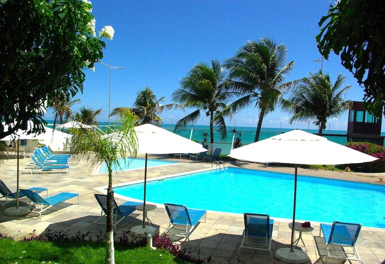 Flat com vista para o Mar e Piscina, Natal, Alberca al aire libre