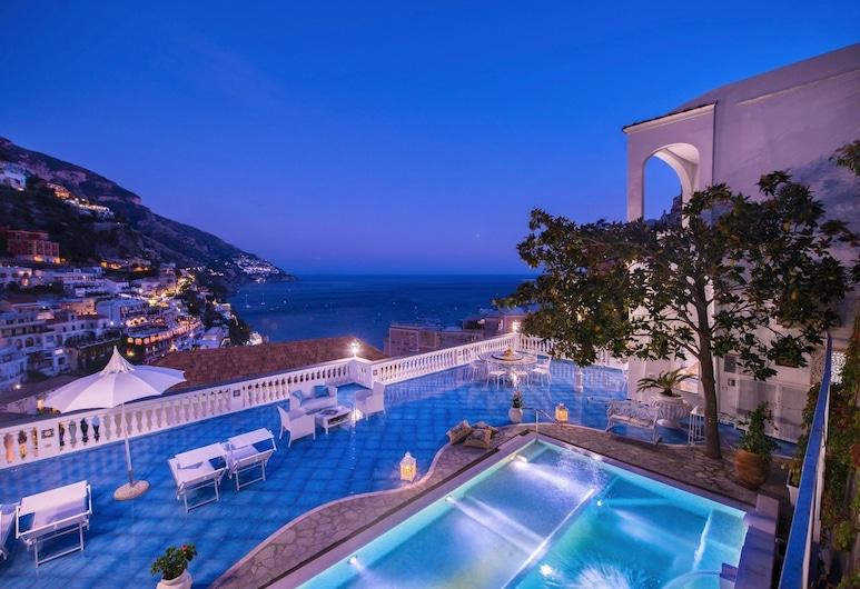 Blue SEA Villa Positano, Positano, Piscina