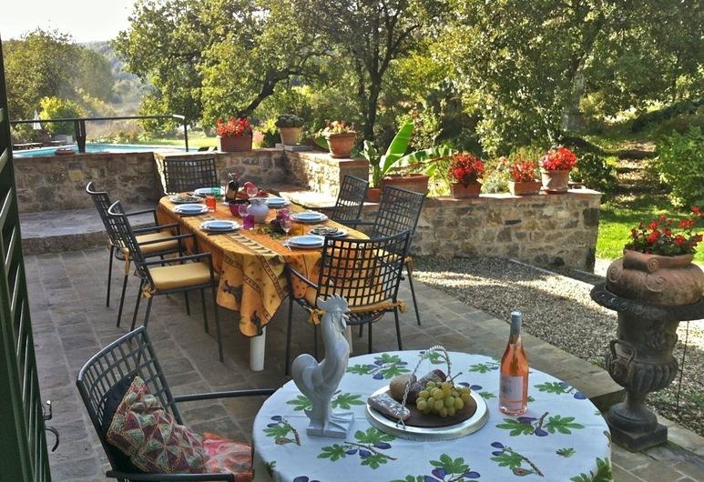 Villa Gaia, Gaiole in Chianti, Balcony