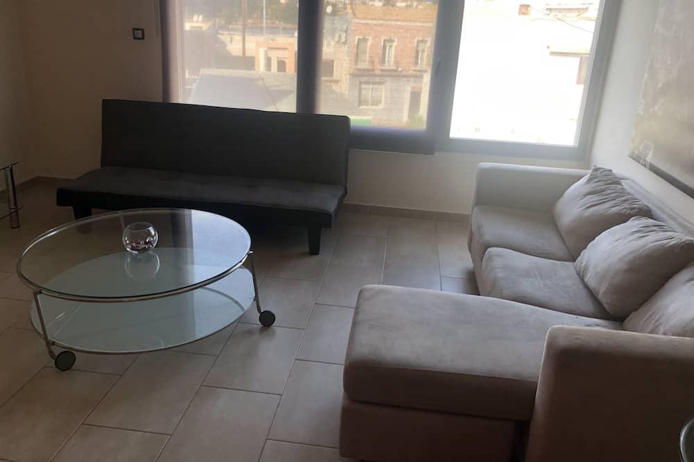Suite junior, 1 habitación, cocina, vistas a la ciudad - Sala de estar
