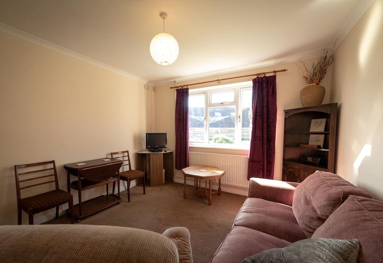Peaceful Seavingtons, Ilminster, Apartament, Łóżko king i sofa, Salon