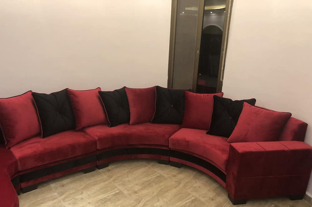Deluxe-Doppel- oder -Zweibettzimmer - Wohnbereich