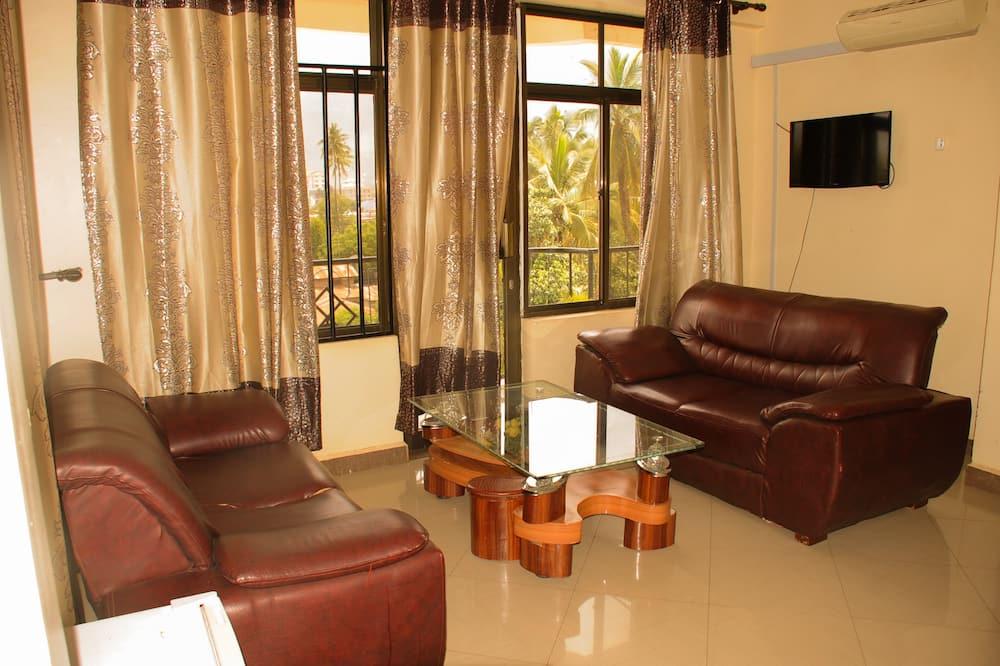 Luxus lakosztály, 1 hálószobával - Nappali