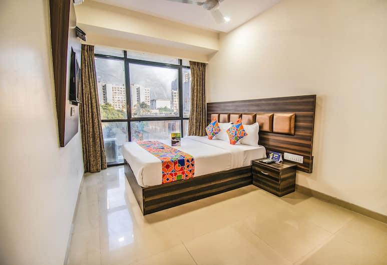 FabExpress Konak, Mumbai, Deluxe soba, 1 bračni krevet, za nepušače, Soba za goste