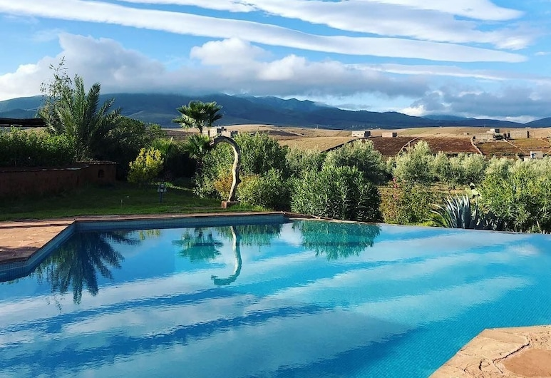 Les Jardins De Taja, Ourika, Εξωτερική πισίνα