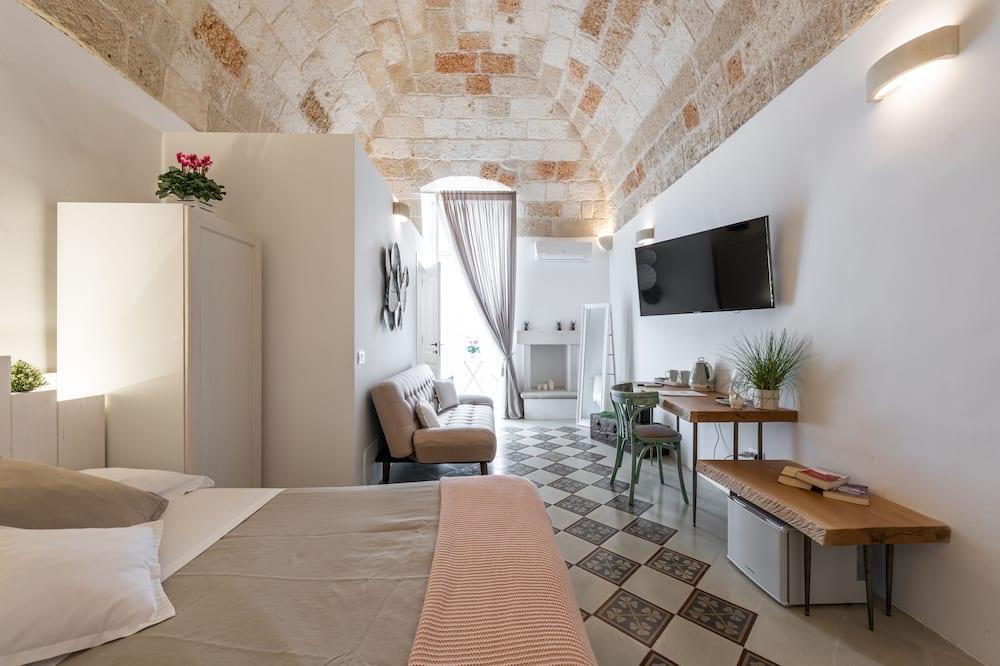 Pokoj Deluxe s dvojlůžkem, dvojlůžko (180 cm) - Pokoj