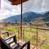 Luxury-Zimmer - Blick vom Balkon