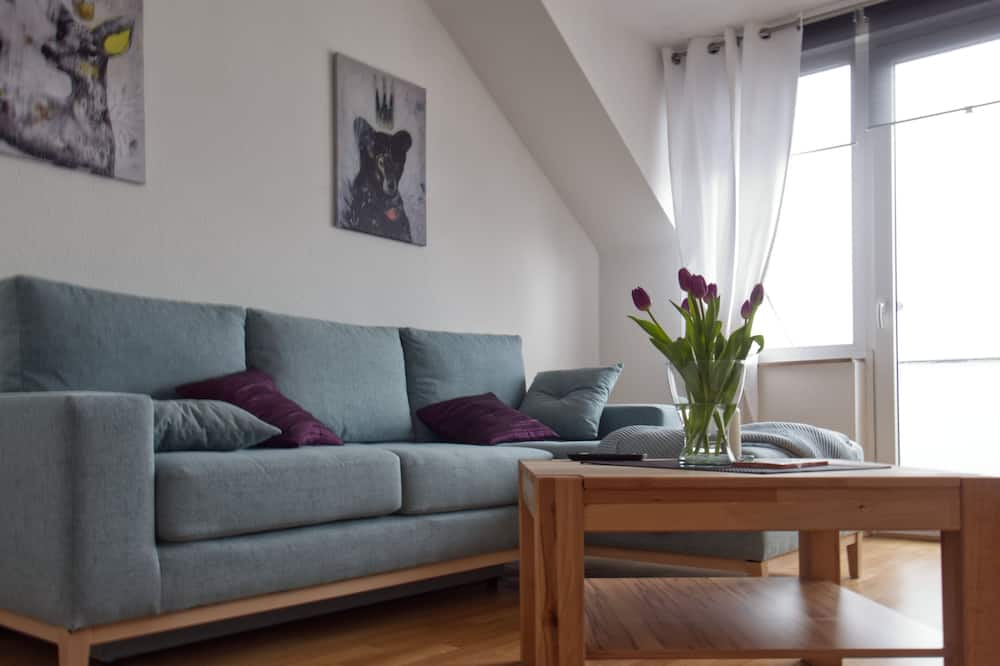 Appartement Classique, balcon - Coin séjour