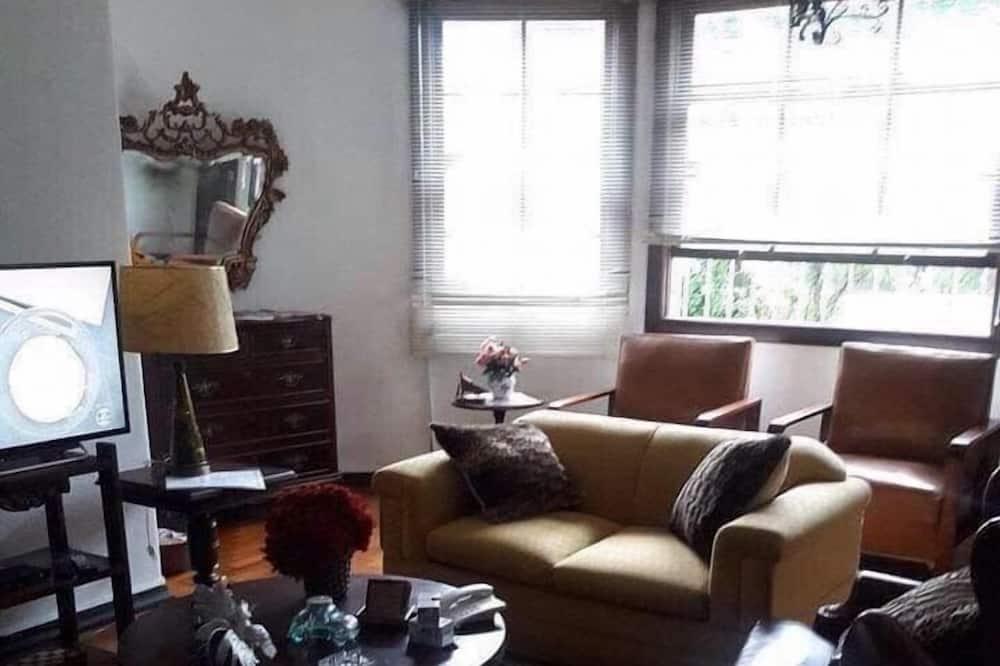 Comfort Apartment, 3 Bedrooms, Smoking - Living Area