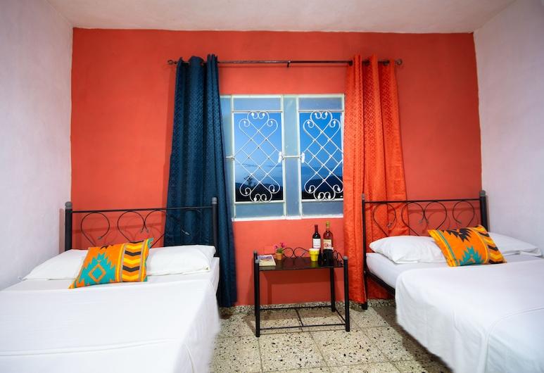 Villa El Pirry, Vinales, חדר משפחתי, 2 מיטות קווין, ללא עישון, חדר אורחים