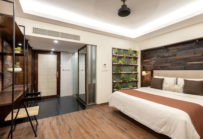 Virohaa hotel , Yeni Delhi, Luxury Oda, 1 En Büyük (King) Boy Yatak, Oda