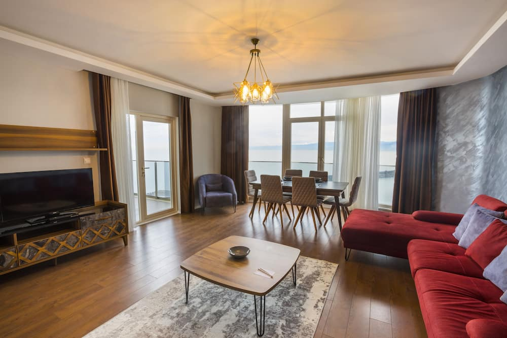 Appartement, 3 chambres, non-fumeurs - Coin séjour