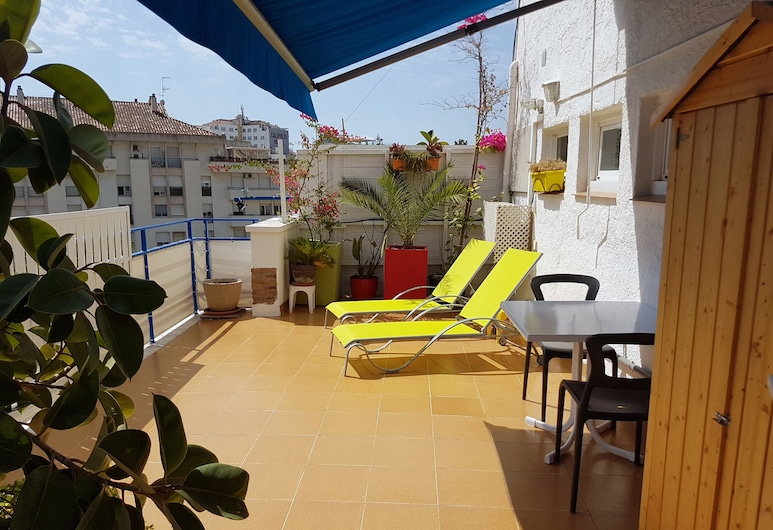 Hotel Alexandra, Sitges, Apartament, 1 sypialnia, taras, Taras/patio