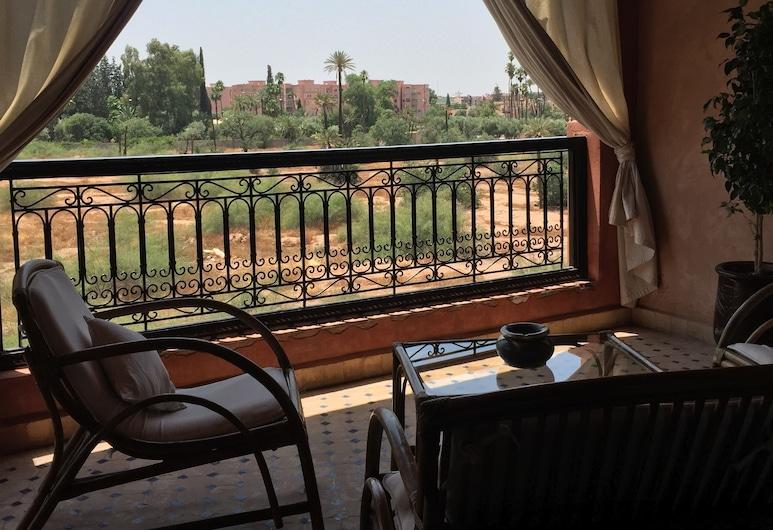 Louz Hiver, Marrakesh, Apartemen Deluks, 2 kamar tidur, non-smoking, Balkon