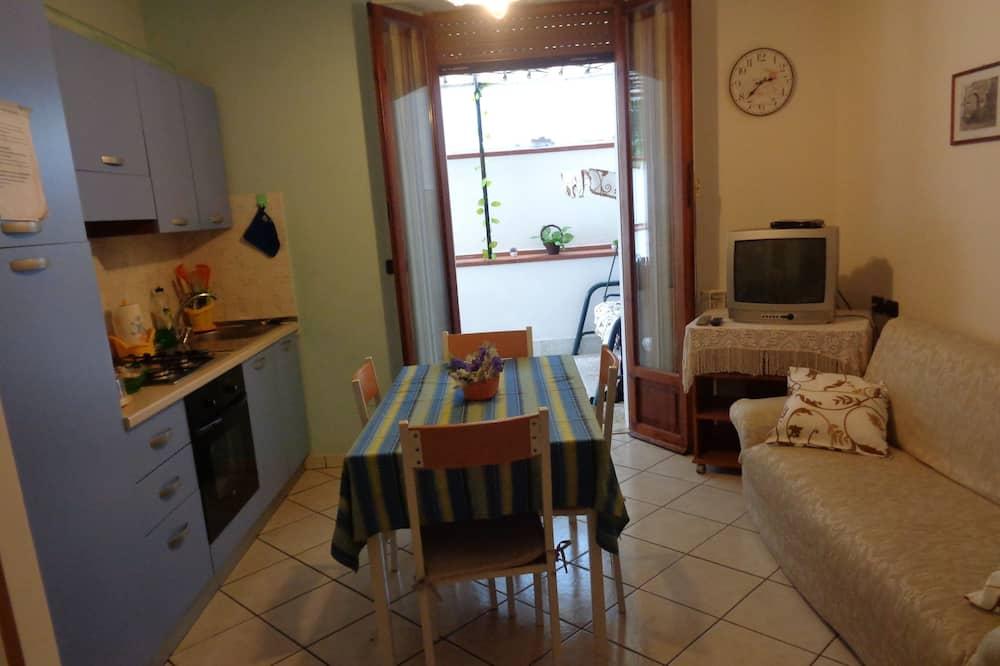شقة عائلية - في الطابق الأرضي (Via Silvio Pellico, 100) - منطقة المعيشة