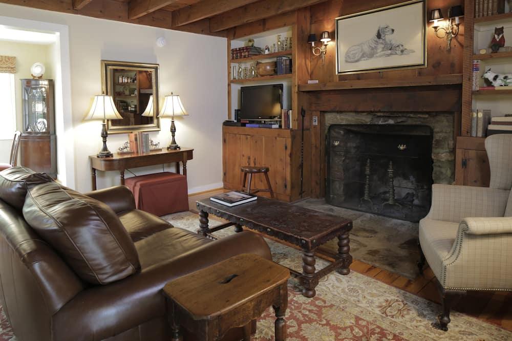 Cabaña, 1 cama King size, para no fumadores, vista a la montaña - Sala de estar