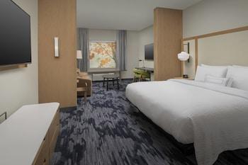 梅塔里紐澳良梅泰裏萬豪豪費爾菲爾德套房酒店的圖片