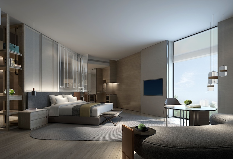 Sheraton Shenzhen Nanshan, Shenzhen, Club Suite, 1 Bedroom, Non Smoking, Corner, Guest Room