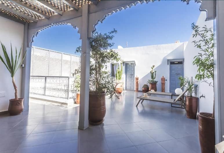 Riad Arganier, Marrakech, Eteisaula