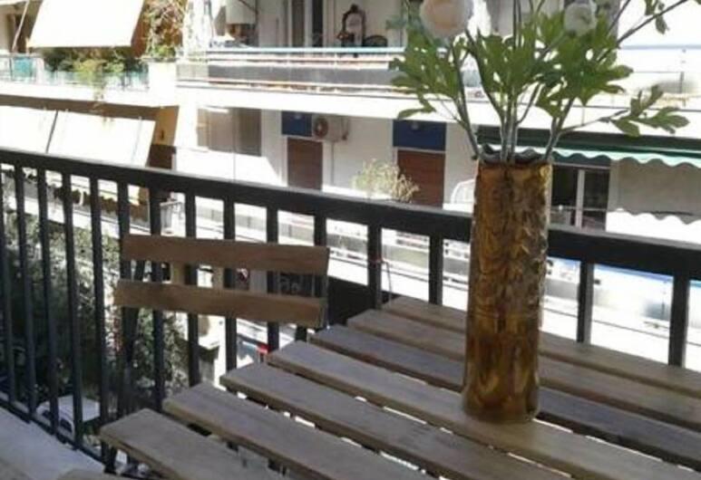 Near The Metro 1 Bedroom City Flat, Αθήνα, Διαμέρισμα, Μπαλκόνι