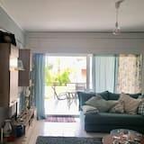 Apartmán, výhľad na mesto - Obývačka