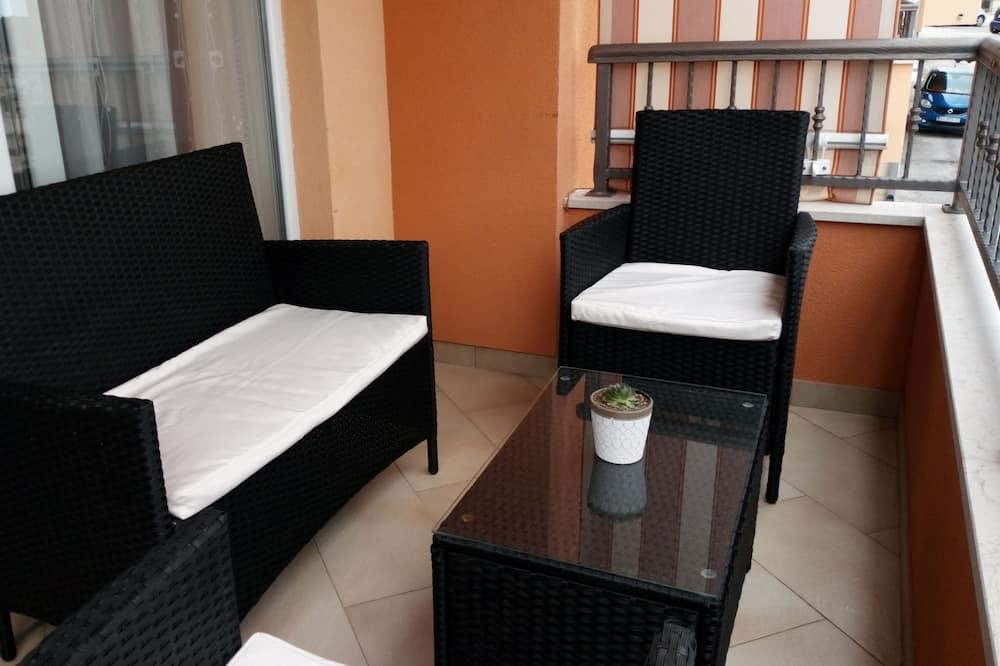 Apartament, widok na morze - Balkon