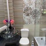 Апартаменти, 1 ліжко «квін-сайз», для некурців - Ванна кімната