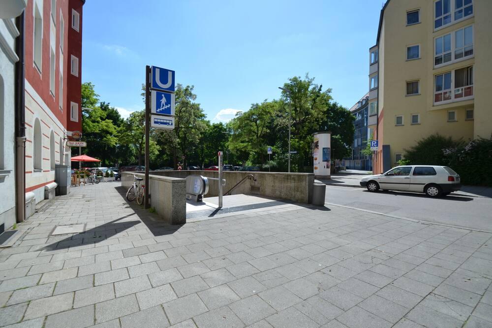 Apartament typu Deluxe, 2 sypialnie, przystosowanie dla niepełnosprawnych, widok na miasto (Puro) - Z widokiem na miasto