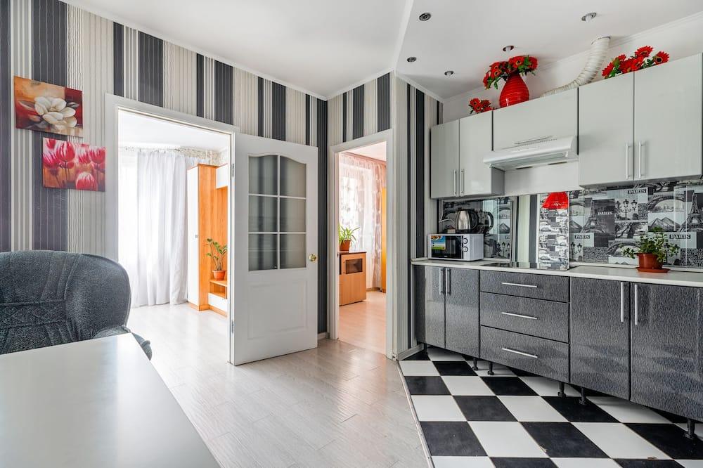 Comfort-lejlighed - flere senge - ikke-ryger - Opholdsområde