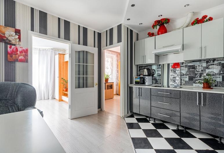 Apartment in Krasnogorsk, קרסנוגורסק, דירת קומפורט, מספר מיטות, ללא עישון, אזור מגורים