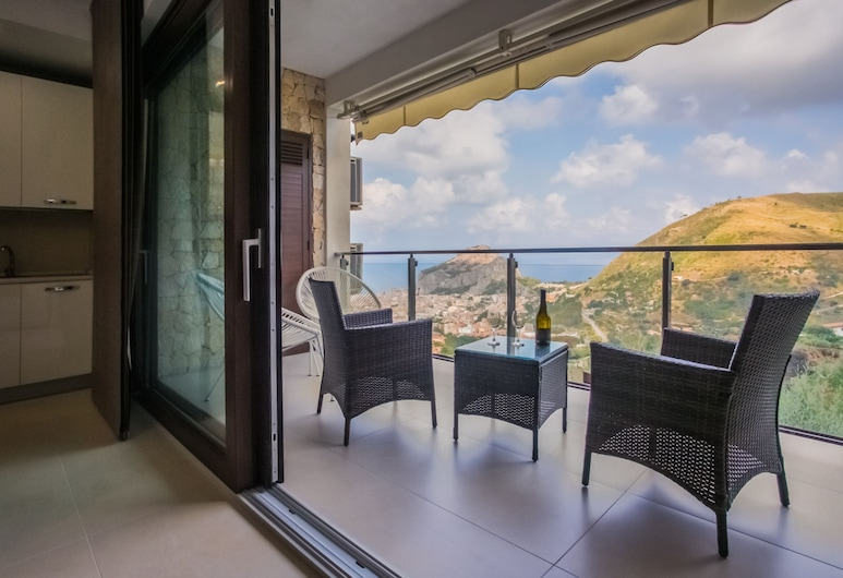 L'Arca Residence, Cefalù, Apartment, 2 Bedrooms, Terrace (Gelsomino), Terrace/Patio