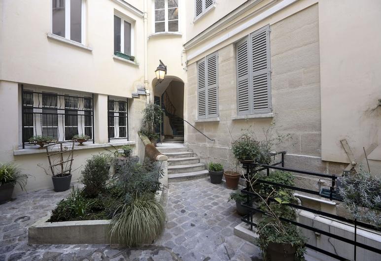 阿爾高酒店, 巴黎, 庭園