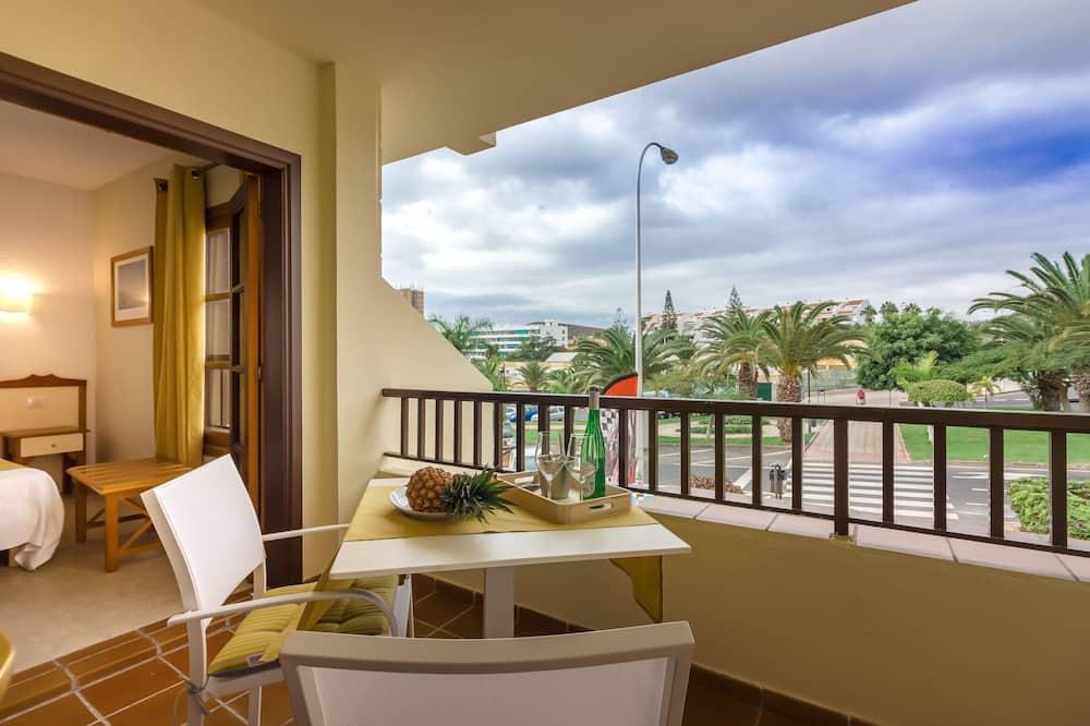 Departamento, 2 habitaciones, para no fumadores - Balcón