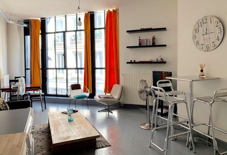 Petits Carreaux, Παρίσι, Basic Διαμέρισμα, Περιοχή καθιστικού