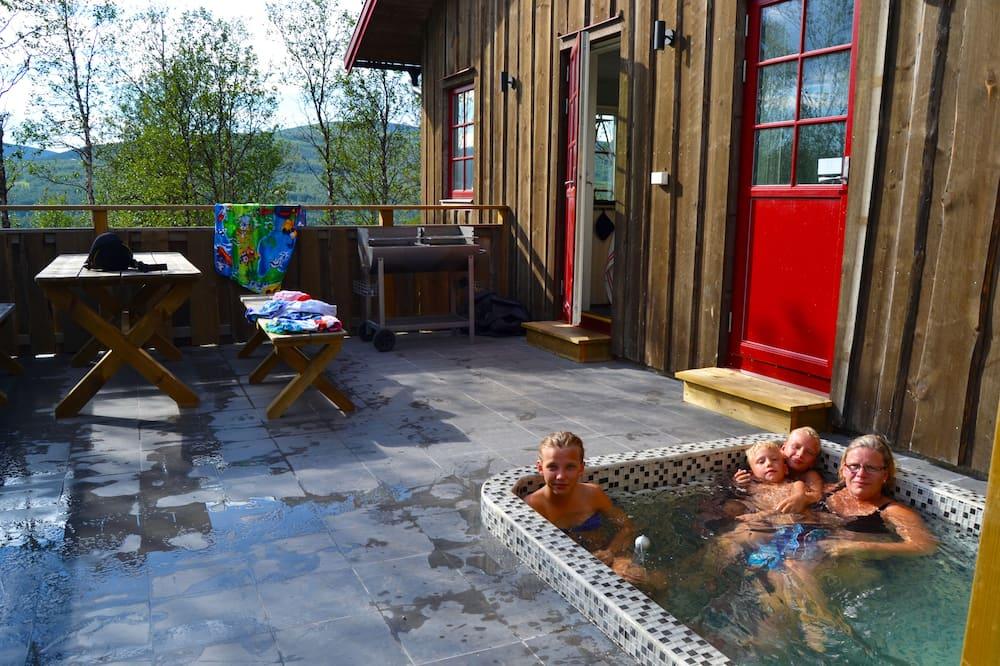 Chalet (Övre Järven) - Vasca idromassaggio privata