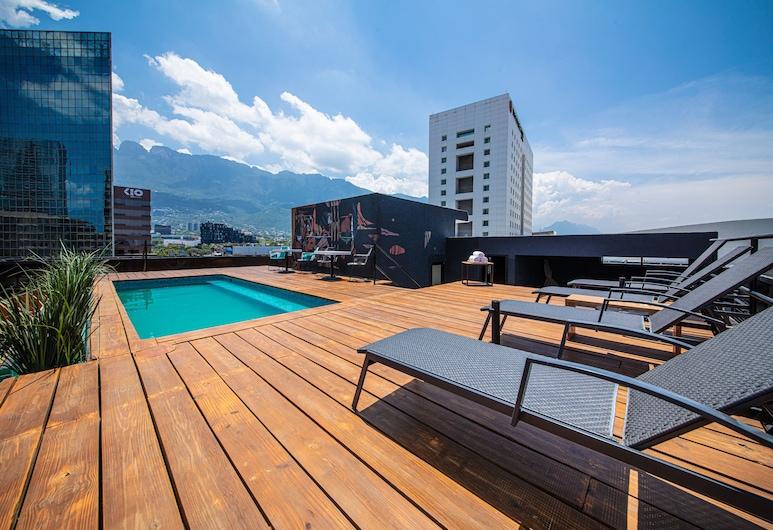 真實蒙特雷酒店, 聖佩德羅加爾薩加西亞, 天台泳池