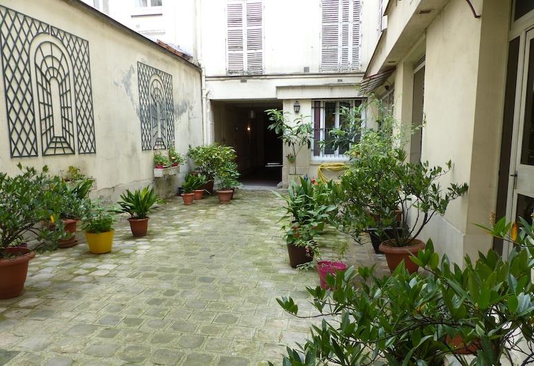 Turgot 3, Paris, Entrée de l'hébergement