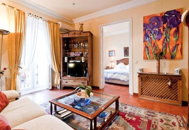 Charmy Apartment Chueca's Square, Madrid, Apartment, 2 Bedrooms, Living Area