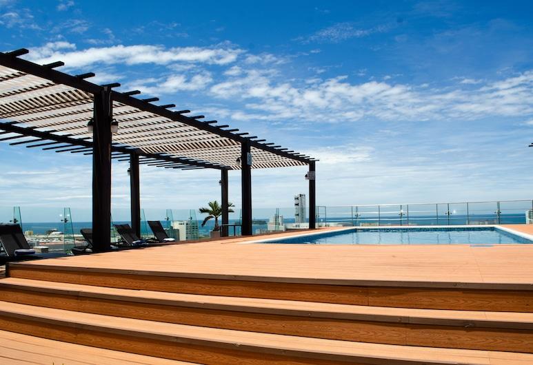 Four Points by Sheraton Veracruz, Boca del Río, Pool på tagterrassen