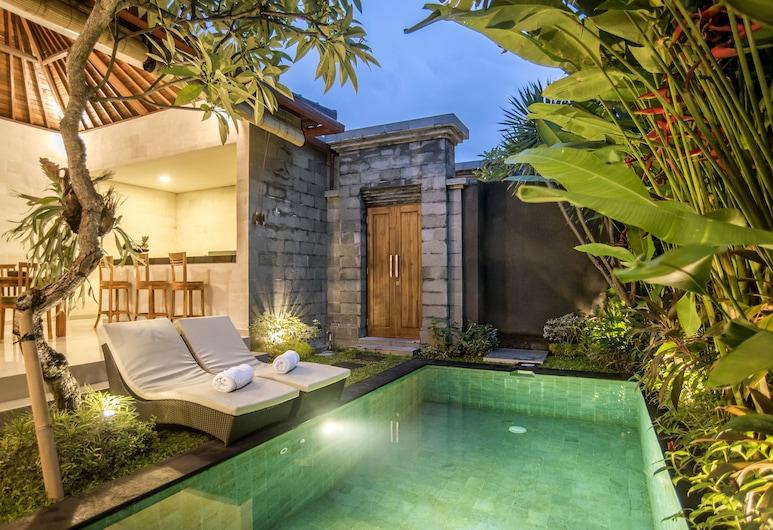 Sandi Agung Villa Bidadari, Seminyak, 1-Bedroom Villa, Piscina particular