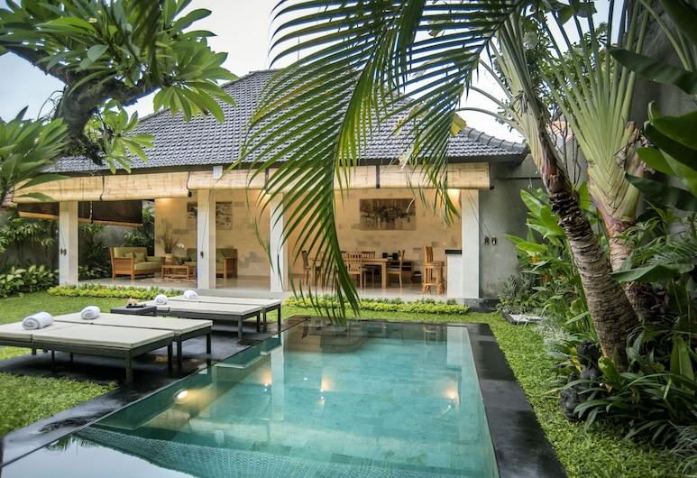 Sandi Agung Villa Bidadari, Seminyak, 3-Bedroom Villa, Piscina particular