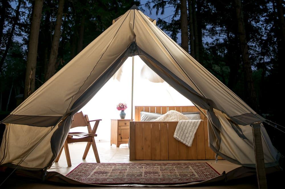 Tente, 1 grand lit, non-fumeurs, vue océan - Chambre